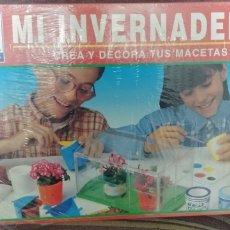 Juegos educativos: JUEGO MI INVERNADERO DE NOVO GAMA NUEVO CON PRECINTO. Lote 173580992