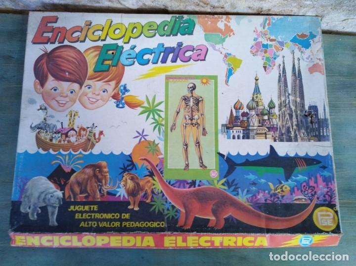 JUEGO ENCICLOPEDIA ELÉCTRICA, MARCA PSE (LEER DESCRIPCIÓN) (Juguetes - Juegos - Educativos)