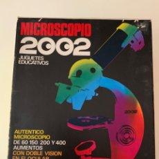 Juegos educativos: MICROSCOPIO 2002. AÑOS 70. Lote 175260953