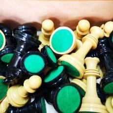 Juegos educativos: CAJA FICHAS AJEDREZ PLASTICO STAUNTON N.4 PERFECTO ESTADO.. Lote 175751958