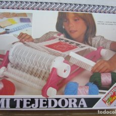 Juegos educativos: MI TEJEDORA DE FEBER, COMPLETA-AÑOS 80 (VER DESCRIPCIÓN). Lote 175772688