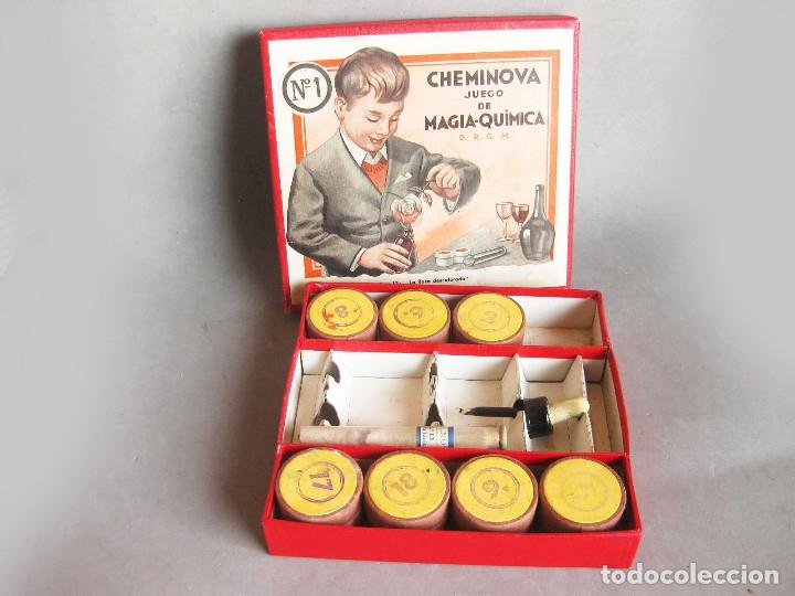 CAJA Nº 1 CHEMINOVA JUEGO DE MAGIA - EXP. 12 LA ROSA DESCOLORADA (Juguetes - Juegos - Educativos)