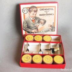 Juegos educativos: CAJA Nº 1 CHEMINOVA JUEGO DE MAGIA - EXP. 12 LA ROSA DESCOLORADA. Lote 176013887