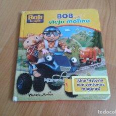 Juegos educativos: BOB Y EL VIEJO MOLINO -- UNA HITORIA CON VENTANAS MÁGICAS -- PLANETA JUNIOR. Lote 176332779