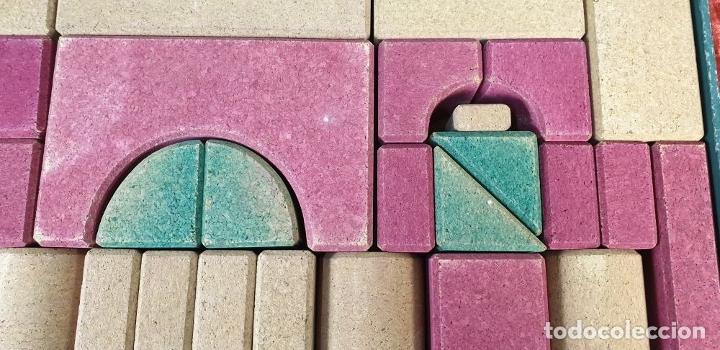 Juegos educativos: JUEGO DE CONSTRUCCIÓN. PIEZAS DE CORCHO. JUEGO COMPLETO. CIRCA 1930. - Foto 6 - 176735509