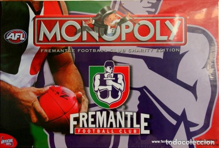 MONOPOLY FREMANTLE DE LA CAMPAÑA AUSTRALIA LUCHA CONTRA EL CÁNCER (Juguetes - Juegos - Educativos)