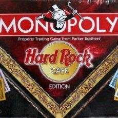 Juegos educativos: MONOPOLY HARD ROCK COLECCIONISTAS. PRECINTADO. Lote 176808114