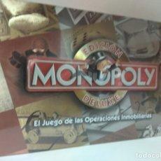 Juegos educativos: MONOPOLY DE LUXE ESPAÑA PRECINTADO. Lote 176808423