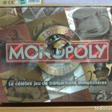 Juegos educativos: MONOPOLY DE LUXE FRANCIA PRECINTADO. Lote 176808662