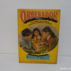 Juegos educativos: ORDENADOR AIRGAM, JUEGO ELECTRONICO DE PREGUNTAS CON FICHAS, ORDINATEUR, CAJA ORIGINAL. Lote 176998504