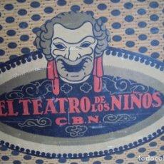 Juegos educativos: (JU-191089)EL TEATRO DE LOS NIÑOS SEIX BARRAL - MUY COMPLETO MIRAR FOTOS. Lote 178665505
