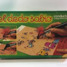 Juegos educativos: JUEGO DE MESA EL DEDO SABIO EDUCACION VIAL,EDUCA 82, JUGUETE ANTIGUO,CONECTA,FEBER,MB,CEFA,EDUCATIVO. Lote 178989893
