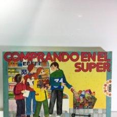 Juegos educativos: JUEGO DE MESA COMPRANDO EN EL SUPER EDUCA 82,JUGUETE ANTIGUO,FEBER,,CEFA,EDUCATIVO,PEDAGOGICO,. Lote 179002131