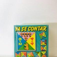 Juegos educativos: JUEGO DE MESA YA SE CONTAR ,EDUCA 82 ,JUGUETE ANTIGUO,FEBER,MB,PUZZLE,VINTAGE,EDUCATIVO,PEDAGOGICO,. Lote 179340502
