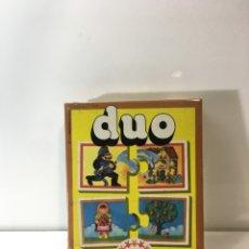 Juegos educativos: JUEGO DE MESA DUO ,EDUCA 78 ,JUGUETE ANTIGUO,FEBER,MB,PUZZLE,VINTAGE,EDUCATIVO,PEDAGOGICO,. Lote 179340705