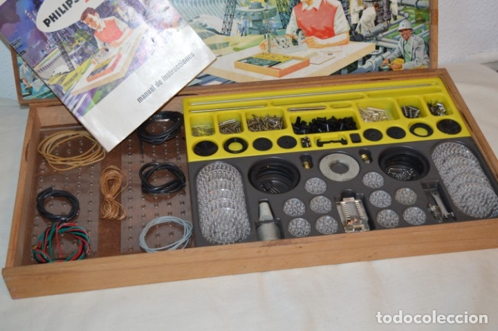 Juegos educativos: Años 60 - PHILIPS Mechanical Engineer ME 1200 - JUEGO EDUCATIVO - VINTAGE - ¡Mira fotos/detalles! - Foto 2 - 179958607