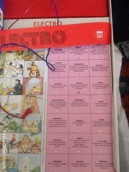 Juegos educativos: Juego 720 preguntas y respuestas Electro de Diset. Años 70-80 - Foto 3 - 180331535