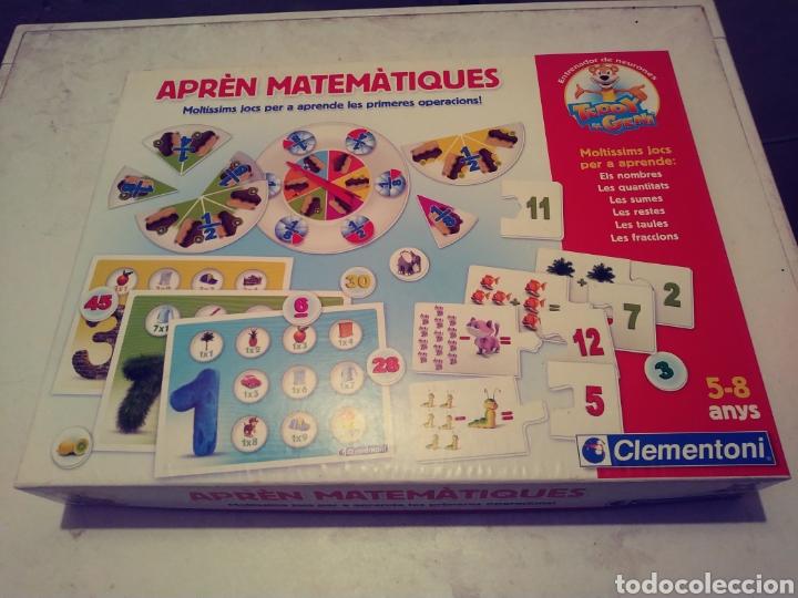 JUEGO APRÈN MATEMÀTIQUES (Juguetes - Juegos - Educativos)