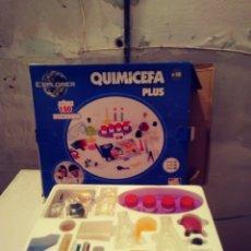 Juegos educativos: JUEGO QUIMICEFA - NUEVO SIN ABRIR. Lote 180403893