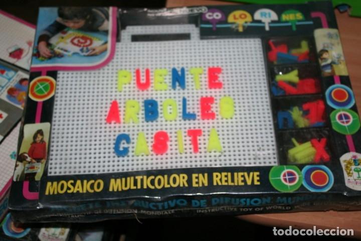 ANTIGUO JUEGO SIN ABRIR JUEGO COLORINES PIQUE (Juguetes - Juegos - Educativos)