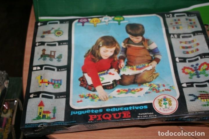 Juegos educativos: antiguo juego sin abrir juego colorines pique - Foto 2 - 180839807