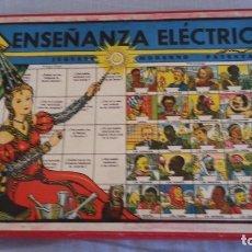 Juegos educativos: JUEGO ANTIGUO ENSEÑANZA ELÉCTRICA. AÑOS 40. Lote 180929633