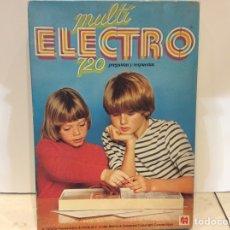 Juegos educativos: MULTI ELECTRO 720 PREGUNTAS Y RESPUESTAS JUMBO 622DISET. Lote 181105292