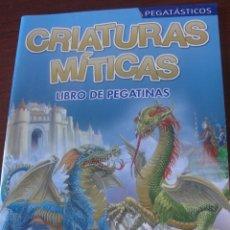 Juegos educativos: PEGATASTICOS - SUSAETA LIBRO DE PEGATINAS / CRIATURAS MITICAS - UNICORNIOS - SIRENAS - HADAS - ELFOS. Lote 181132773