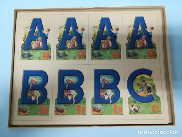 Juegos educativos: ANTIGUO JUEGO ABECEDEDARIO BARSAL AÑOS 40 SIN USAR #AA - Foto 2 - 181209426