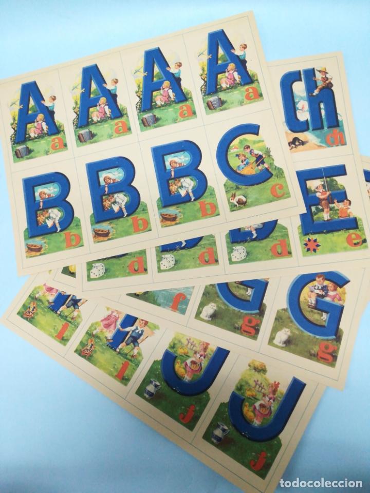 Juegos educativos: ANTIGUO JUEGO ABECEDEDARIO BARSAL AÑOS 40 SIN USAR #AA - Foto 3 - 181209426