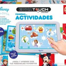 Juegos educativos: EDUCA TOUCH JUNIOR DISNEY PRIMERAS ACTIVIDADES EDUCATIVAS. Lote 181586651