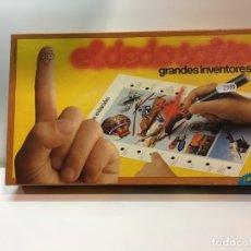 Juegos educativos: JUEGO DE MESA EL DEDO SABIO GRANDES INVENTORES DE EDUCA 83,JUGUETE ANTIGUO,FEBER,CEFA,EDUCATIVO.. Lote 182444845