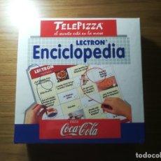 Juegos educativos: LECTRON ENCICLOPEDIA PROMOCIONAL TELEPIZZA COCA COLA PRECINTADO!!!. Lote 182653105