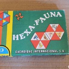 Juegos educativos: ANTIGUO JUEGO DE MESA HEXA FAUNA. Lote 182894205