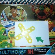 Juegos educativos: MULTIHOBBY M-1 FEBBER ESCOLAR - AÑOS 80 PIEZA PERTENECIENTE A LA CAJA - PIEZA MONTAJE TIPO MECANO. Lote 182907722