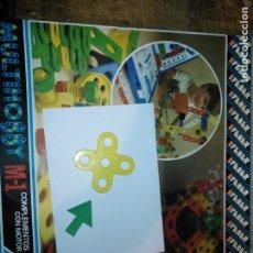 Juegos educativos: MULTIHOBBY M-1 FEBBER ESCOLAR - AÑOS 80 PIEZA PERTENECIENTE A LA CAJA - PIEZA MONTAJE TIPO MECANO. Lote 182907803