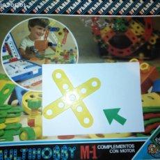 Juegos educativos: MULTIHOBBY M-1 FEBBER ESCOLAR - AÑOS 80 PIEZA PERTENECIENTE A LA CAJA - PIEZA MONTAJE TIPO MECANO. Lote 182907862