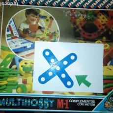 Juegos educativos: MULTIHOBBY M-1 FEBBER ESCOLAR - AÑOS 80 PIEZA PERTENECIENTE A LA CAJA - PIEZA MONTAJE TIPO MECANO. Lote 182907871