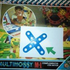 Juegos educativos: MULTIHOBBY M-1 FEBBER ESCOLAR - AÑOS 80 PIEZA PERTENECIENTE A LA CAJA - PIEZA MONTAJE TIPO MECANO. Lote 182907913