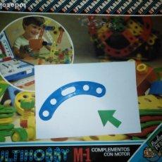 Juegos educativos: MULTIHOBBY M-1 FEBBER ESCOLAR - AÑOS 80 PIEZA PERTENECIENTE A LA CAJA - PIEZA MONTAJE TIPO MECANO. Lote 182907935