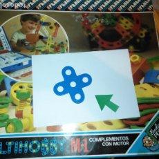 Juegos educativos: MULTIHOBBY M-1 FEBBER ESCOLAR - AÑOS 80 PIEZA PERTENECIENTE A LA CAJA - PIEZA MONTAJE TIPO MECANO. Lote 182907955
