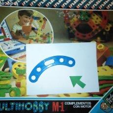 Juegos educativos: MULTIHOBBY M-1 FEBBER ESCOLAR - AÑOS 80 PIEZA PERTENECIENTE A LA CAJA - PIEZA MONTAJE TIPO MECANO. Lote 182907972