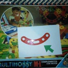 Juegos educativos: MULTIHOBBY M-1 FEBBER ESCOLAR - AÑOS 80 PIEZA PERTENECIENTE A LA CAJA - PIEZA MONTAJE TIPO MECANO. Lote 182907983