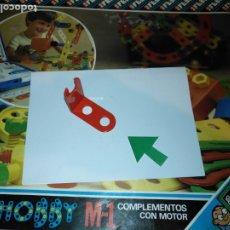 Juegos educativos: MULTIHOBBY M-1 FEBBER ESCOLAR - AÑOS 80 PIEZA PERTENECIENTE A LA CAJA - PIEZA MONTAJE TIPO MECANO. Lote 182908053