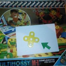Juegos educativos: MULTIHOBBY M-1 FEBBER ESCOLAR - AÑOS 80 PIEZA PERTENECIENTE A LA CAJA - PIEZA MONTAJE TIPO MECANO. Lote 182908066