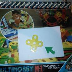 Juegos educativos: MULTIHOBBY M-1 FEBBER ESCOLAR - AÑOS 80 PIEZA PERTENECIENTE A LA CAJA - PIEZA MONTAJE TIPO MECANO. Lote 182908083