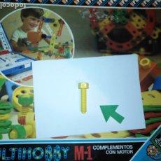 Juegos educativos: MULTIHOBBY M-1 FEBBER ESCOLAR - AÑOS 80 PIEZA PERTENECIENTE A LA CAJA - PIEZA MONTAJE TIPO MECANO. Lote 182908138