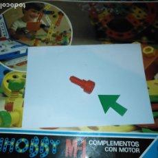 Juegos educativos: MULTIHOBBY M-1 FEBBER ESCOLAR - AÑOS 80 PIEZA PERTENECIENTE A LA CAJA - PIEZA MONTAJE TIPO MECANO. Lote 182908142