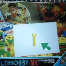 Juegos educativos: MULTIHOBBY M-1 FEBBER ESCOLAR - AÑOS 80 PIEZA PERTENECIENTE A LA CAJA - PIEZA MONTAJE TIPO MECANO. Lote 182908151