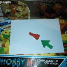Juegos educativos: MULTIHOBBY M-1 FEBBER ESCOLAR - AÑOS 80 PIEZA PERTENECIENTE A LA CAJA - PIEZA MONTAJE TIPO MECANO. Lote 182908176